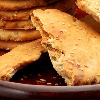 【美雅宜蘭餅】宜蘭三星蔥古法燒餅(原味)×3包