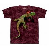 『摩達客』美國進口【The Mountain】自然純棉系列 和平壁虎設計T恤 (預購)