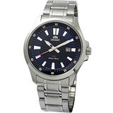 ORIENT 新運動風SP系列鋼帶錶(藍+黑) FUNE1003D