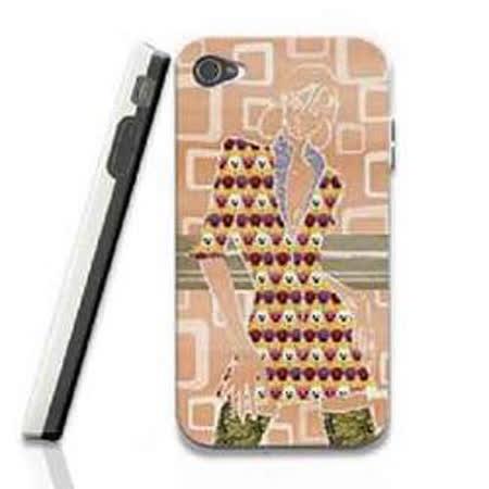 變色龍 Flash Phone Case I4/4S 3D手機殼 時尚 10210