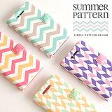 【Happymori】※Summer pattern※ 側開手機皮套 適用iphone4s/4 Galaxy S2 i9100