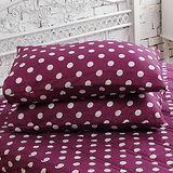 J‧bedtime【甜甜圈-桑葚紫】防潑水保潔枕墊(2入)