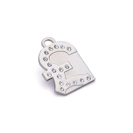【私心大推】gohappy快樂購澳洲品牌Hamish McBeth-英磅BlingBling水晶吊牌 (銀色)開箱太平洋 sogo 百貨 公司