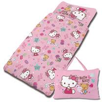 【享夢城堡】H精梳棉抗菌舖棉冬夏兩用4X5兒童睡袋-HELLO KITTY 我的甜蜜夥伴-粉