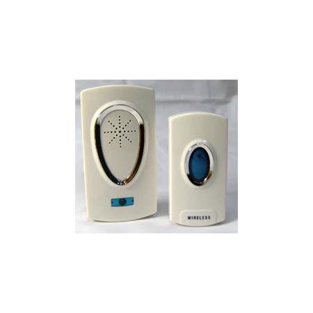 《美化家居》防水插電型無線遙控門鈴 D3925