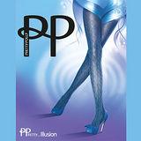 『摩達客』英國進口【Pretty Polly】索繩印紋彈性絲襪