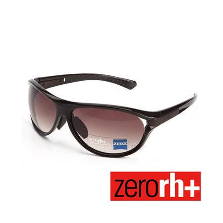 ZERORH+ 蔡司鏡片復古戶外休閒太陽眼鏡(咖啡色) RH675 04