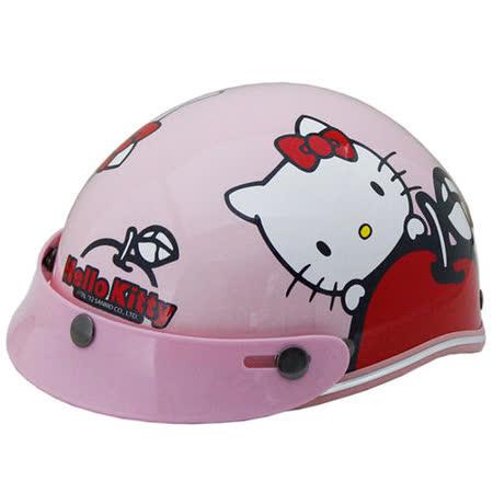 Apple-Hello kitty幼兒專用安全帽
