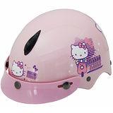 機車-Hello kitty幼兒專用安全帽