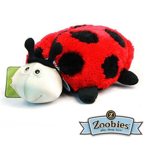 【Zoobies】毛毯寵物玩偶-Lilly瓢蟲