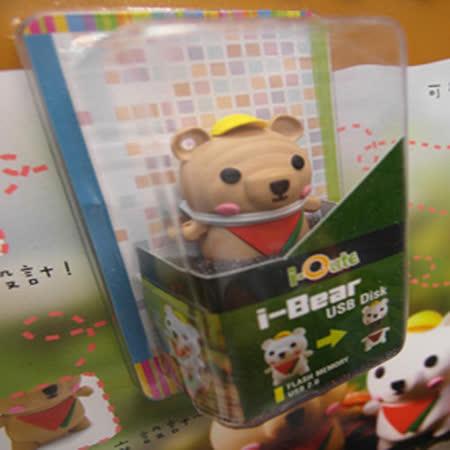 LightForce 焦糖熊 4GB 隨身碟