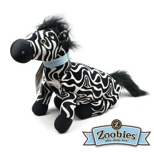 【Zoobies】毛毯寵物玩偶-Zulu斑馬
