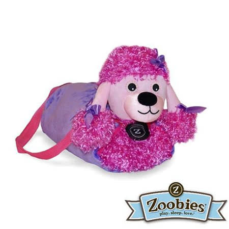 【Zoobies】毛毯寵物玩偶-Posh貴賓犬
