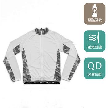 【EverSmile】男吸濕排汗印花自行車衣外套