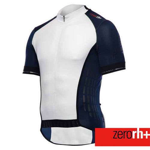 ZERORH  力量肌肉貼花 自行車車衣^(男^)~單車 款~ECU0129