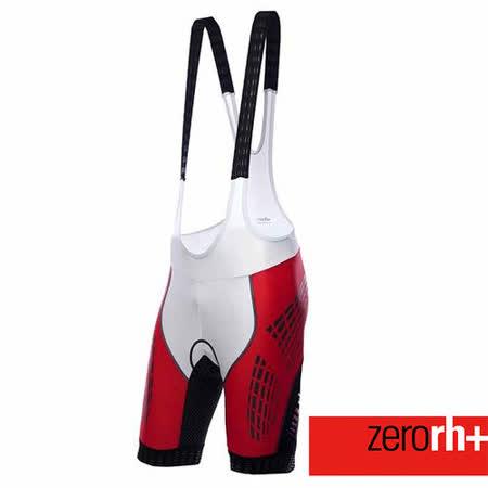 ZERORH+ 獨家力量肌肉貼花設計自行車吊帶車褲(男)★單車推薦必備款★ ECU0128