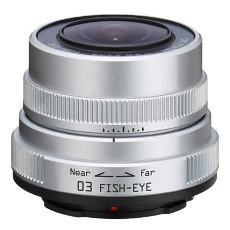 PENTAX Q 03 FISH EYE 3.2mm F5.6魚眼鏡頭(公司貨)