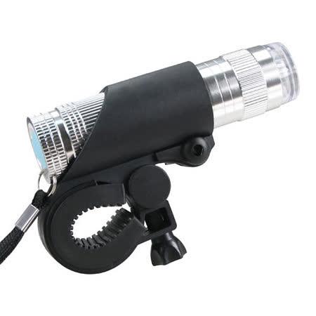 【KINYO】自行車兩用鋁合金手電筒(BLED-7102)