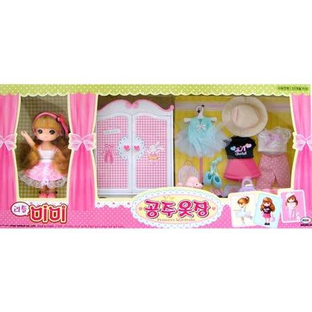 《家家酒玩具》迷你MIMI甜心衣櫥