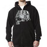 『摩達客』美國進口超酷FUN品牌【Metal Mulisha】軍頭骷髏黑色設計連帽外套