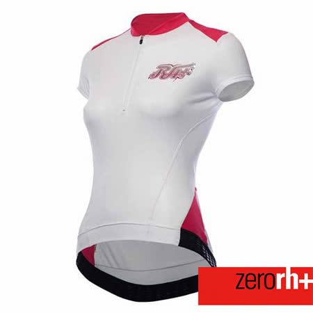 ZERORH+ 時尚亮片造型專業短袖排汗自行車衣~共兩色 ECD0132