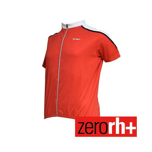 ZERORH  短袖排汗自行車衣^(男^) ECU0016