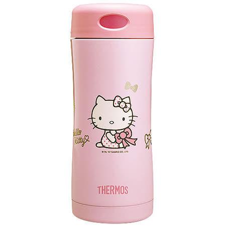 膳魔師 Hello Kitty雙層真空保溫杯瓶400ml-粉色PK
