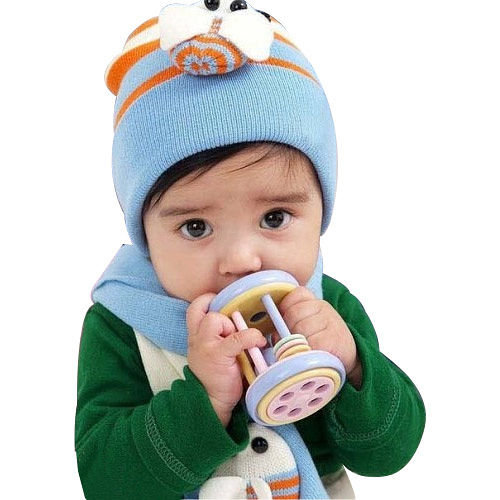 【iSFun】可愛蜜蜂*兒童圍巾+帽組