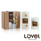 【LOVEL】香氛手工蠟燭組(花朵系列-海洋)