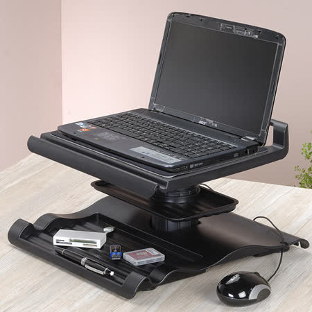 《極致生活》多功能升降筆電桌