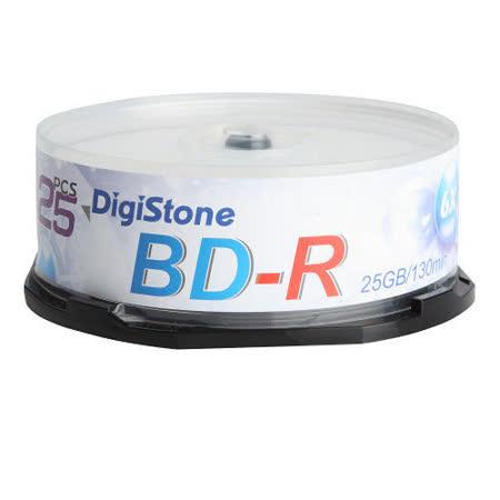 DigiStone 國際版 藍光 6X BD-R 25GB 桶裝 (25片)