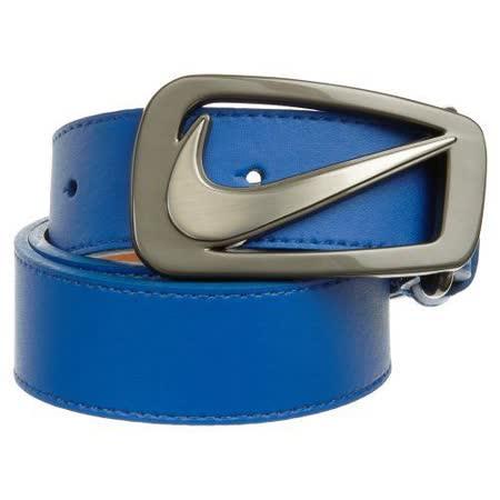 Nike 2012旋風nappa藍色皮帶【預購】