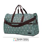 《Traveler Station》HAPI+TAS摺疊圓形旅行袋(大)