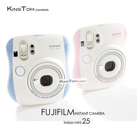 FUJIFILM Instax mini 25 拍立得相機(公司貨)