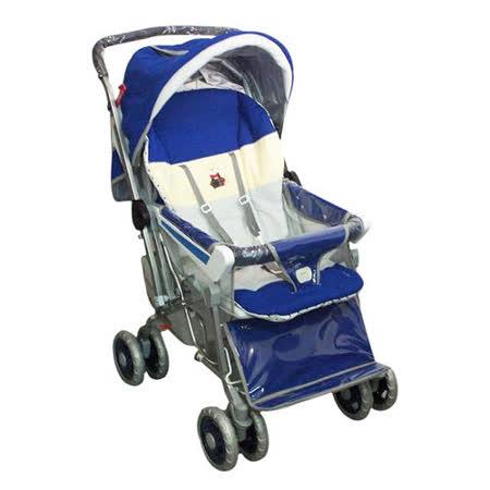 IAN BABY 9998(889)豪華加寬超大型 嬰兒手推車(藍/深藍/咖啡)/鋁合金/台灣製