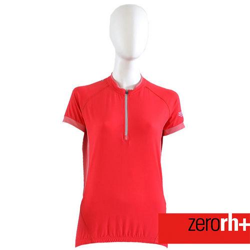 ZERORH  短袖吸溼排汗自行車衣^(女^) Z1E8CD080