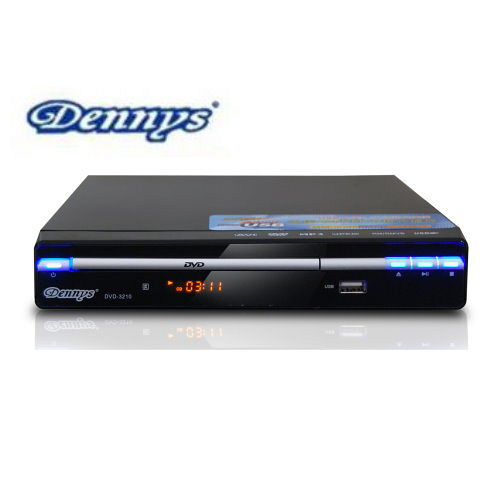 Dennys RM/DivX/USB DVD播放器 (DVD-3210)