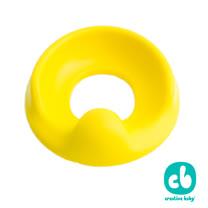 Creative Baby- 兒童馬桶學習軟墊-黃色