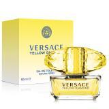 Versace凡賽斯 香愛黃鑽女性淡香水(50ml)贈品牌針管(1.5ml)