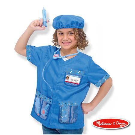 美國瑪莉莎 Melissa & Doug 角色扮演 -【獸醫服裝扮遊戲組】玩具