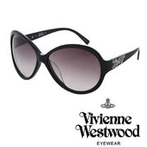 Vivienne Westwood太陽眼鏡★晶鑽閃耀土星★英倫龐克墨鏡 (黑) VW686 01