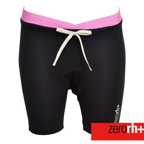 ZERORH 吸溼排汗綁帶自行車褲^(女^) Z1E8CD620