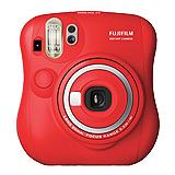 FUJIFILM instax mini25 mini 25 限量紅(公司貨).-送空白底片+底片邊框貼紙+水晶保護殼+束口袋