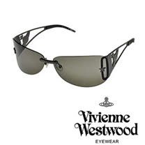 Vivienne Westwood太陽眼鏡★重金屬前衛造型★英倫龐克教母設計(鐵灰色) VW592 05