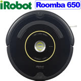 【全台最新2015/11/3製造08版軟體 原廠搭配最新800系列合體版變壓充電座】美國 iRobot Roomba 650AeroVac1高效能集塵盒預約定時機器人掃地吸塵器