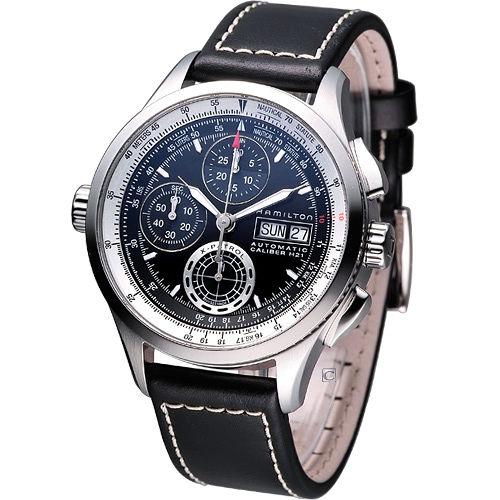 Hamilton Khaki X~Patrol航空巡航者腕錶^(H76556731^)黑面