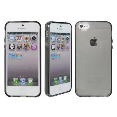 [ZIYA] iPhone 5 水樣保護套-透明質感黑