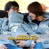 韓版冬款刷毛《紐約幸運7》長袖親子裝@四件組【預購款】