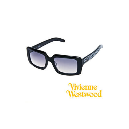 Vivienne Westwood太陽眼鏡★復古普普風★英倫龐克教母設計墨鏡(普普黑) VW617 02