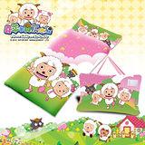 【喜羊羊郊遊篇】幼教兒童睡袋(4*5尺-粉紅)